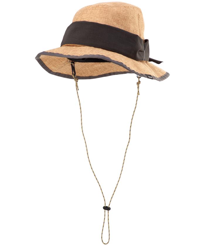 【四角友里コラボレーション】W's 2Way Jute Like Hat / ウィメンズ2ウェイジュートライクハット