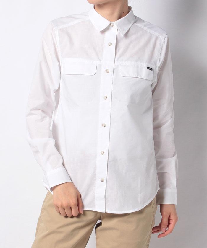 W's TC Rip L/S Shirt / ウィメンズティーシーリップロングスリーブシャツ
