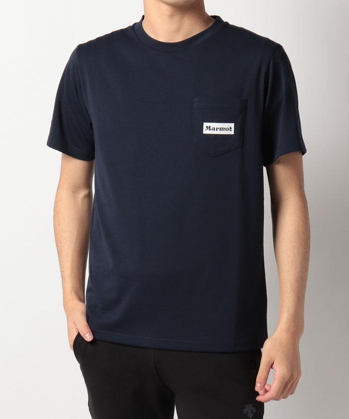 【UV CUT】Pocket Logo H/S Tee / ポケットロゴハーフスリーブティー