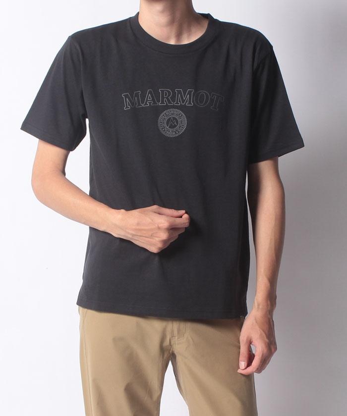 【UV CUT】Organic-C College Logo H/S Tee / オーガニックコットンカレッジロゴハーフスリーブティー