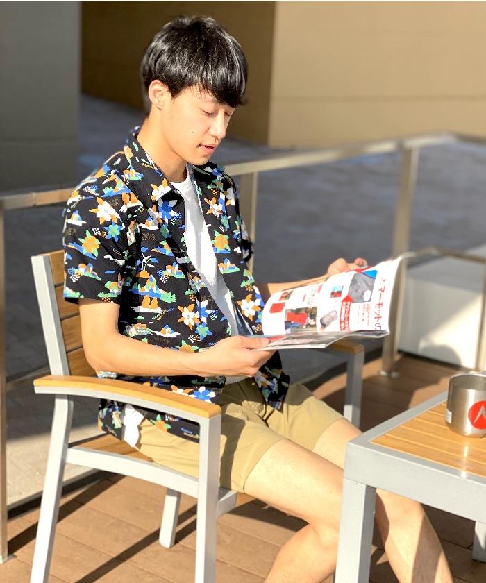 Hiker Aloha H/S Shirt / ハイカーアロハハーフスリーブシャツ