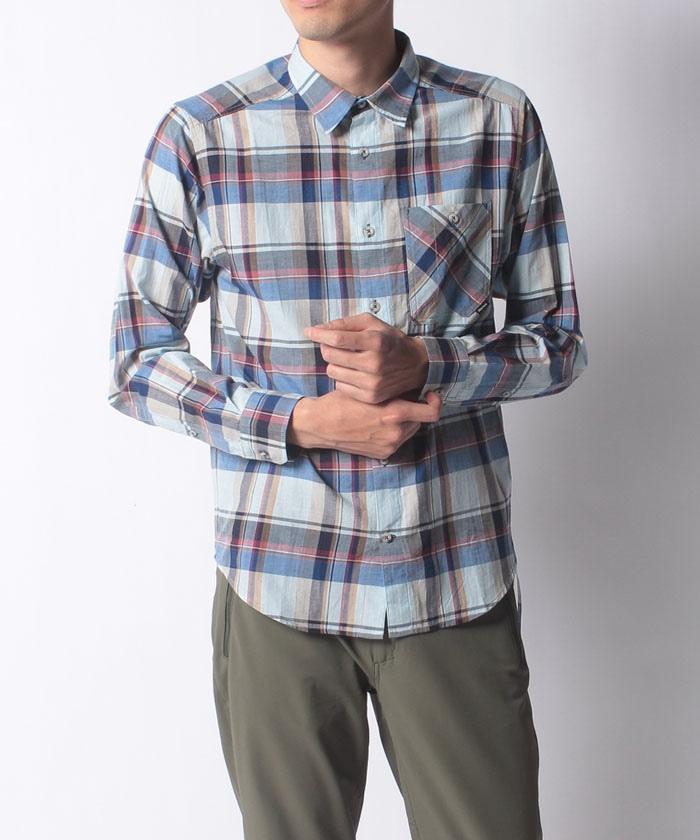 CL Plaid L/S Shirt / シーエルプラッドロングスリーブシャツ
