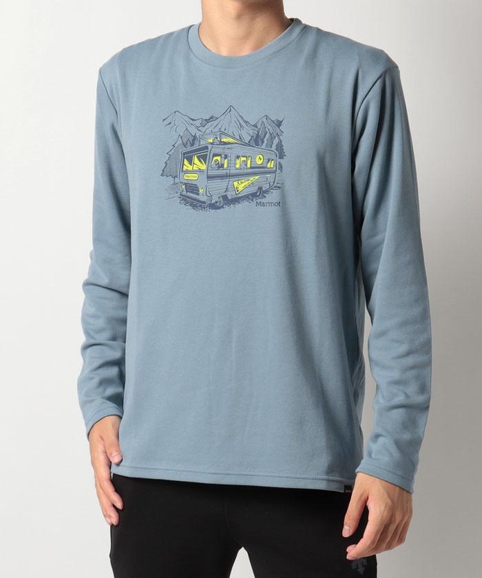 【UV CUT】T/Cキャンプカープリント長袖Tシャツ/T/C Camp Car L/S Tee