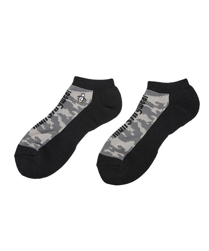 【ENVOY/エンボイ】デジタルカモフラージュ柄アンクル丈ソックス 靴下