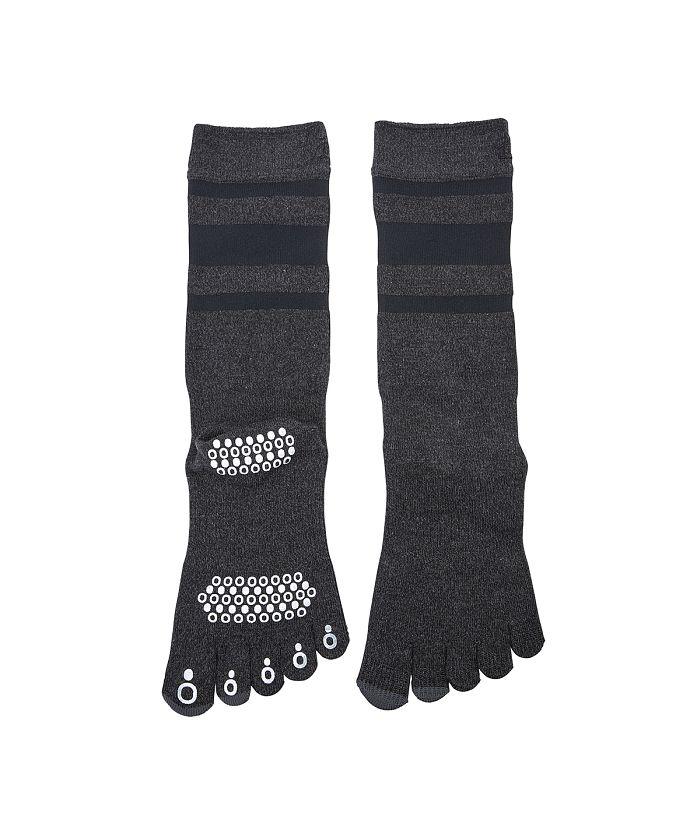 5本指ミドル丈ソックス 靴下