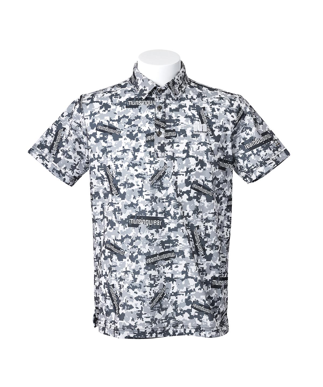【ENVOY/エンボイ】【サンスクリーン】ステッカーロゴ&カモフラプリントシャツ