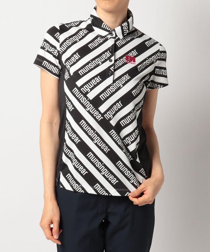 【ENVOY/エンボイ】【クーリスト】【吸汗速乾】レジメンタルプリント半袖シャツ