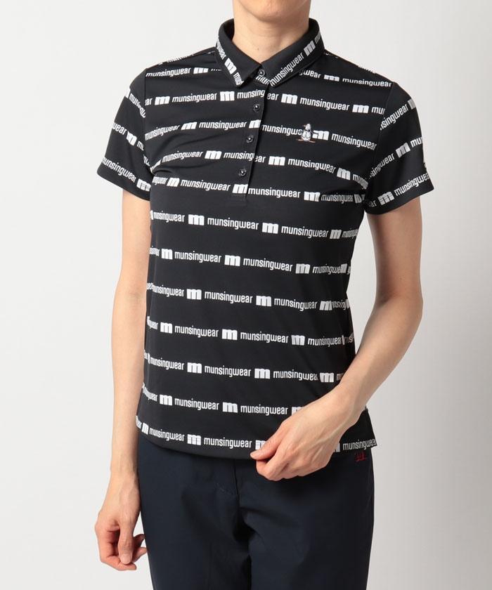 【ENVOY/エンボイ】【クーリスト】【吸汗速乾】ロゴプリントボーダー半袖シャツ