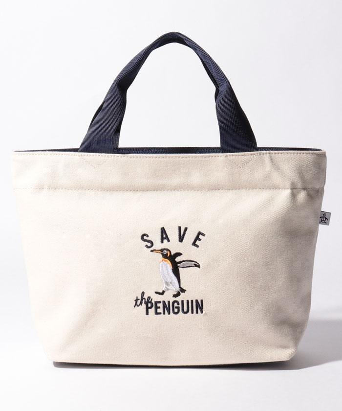 【SAVE THE PENGUIN・WWFコラボ/ECO】カートバッグ