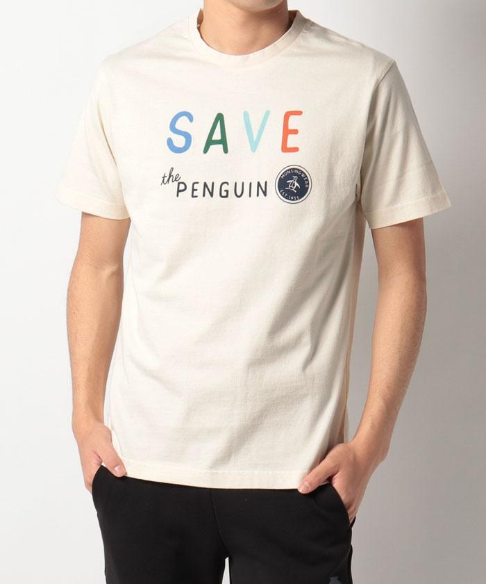 【限定/SAVE THE PENGUIN・WWFコラボ/ECO】オーガニックコットンTシャツ