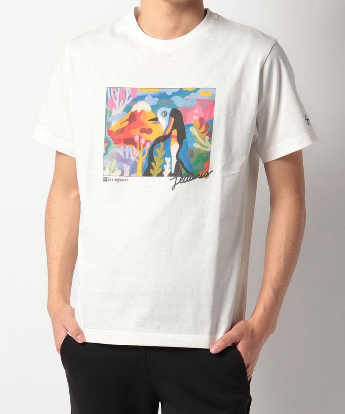【限定/SAVE THE PENGUIN・LEDANIAコラボ】プリントTシャツ