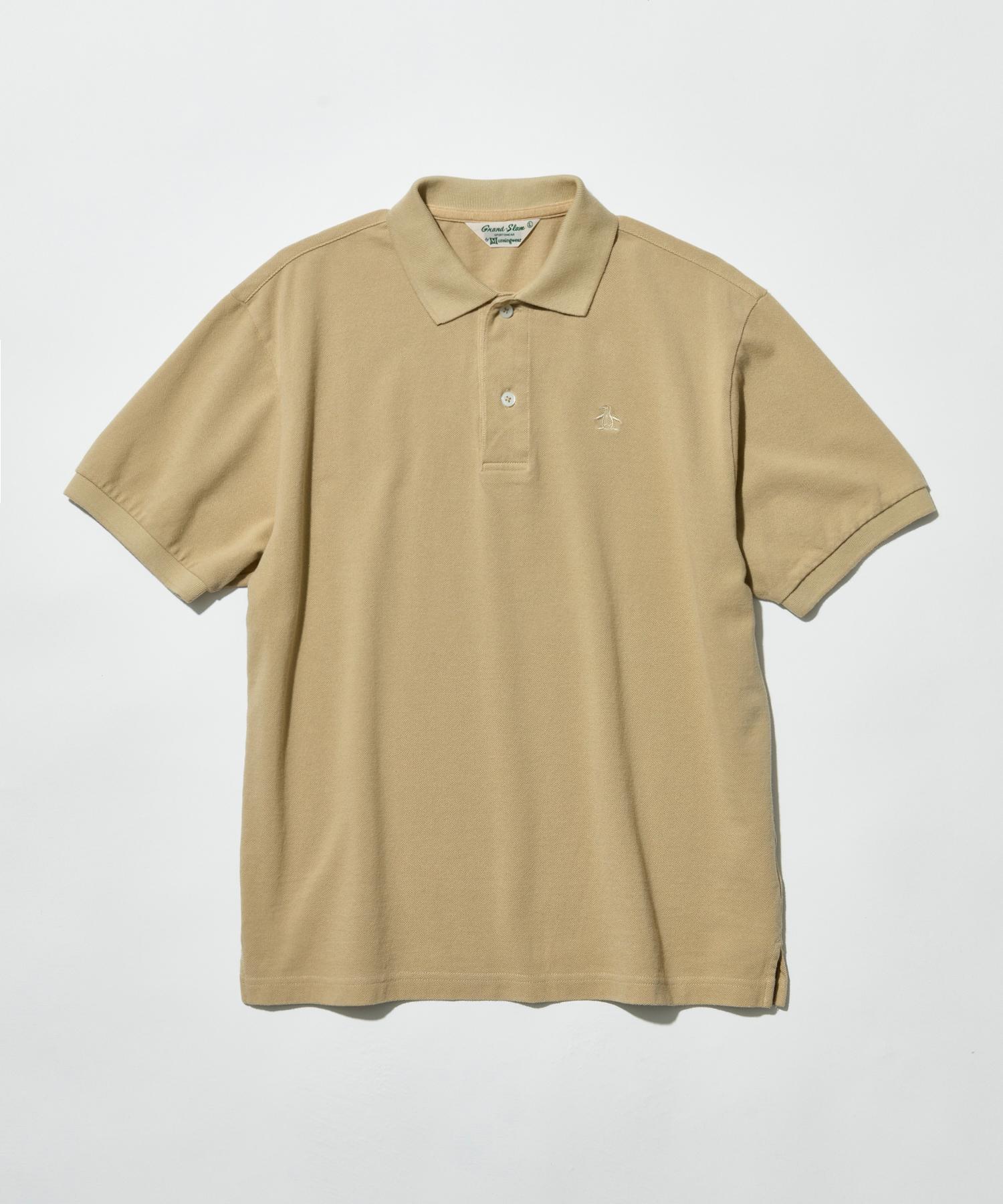 【Grand-Slam】製品染めポロシャツ