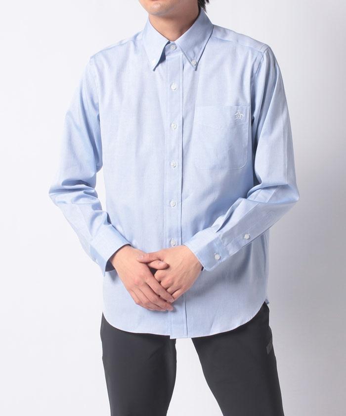 【限定】長袖布帛シャツ