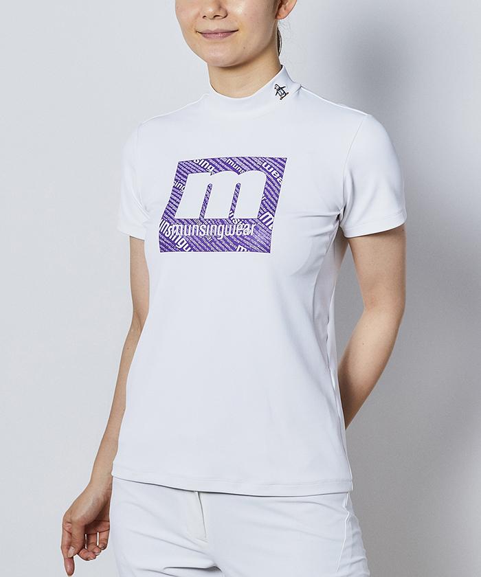 【ENVOY】mロゴプリント半袖シャツ【サンスクリーン/MOTION 3D】