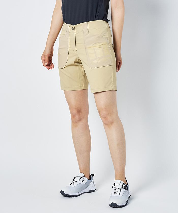 【ENVOY】ストレッチショートパンツ(股下20cm)【サンスクリーン/キープクリーン】