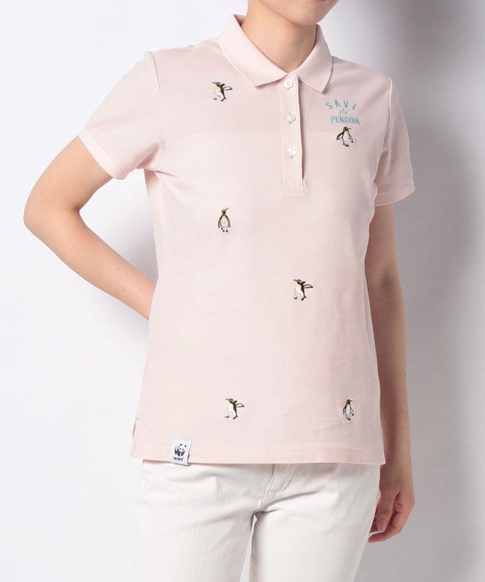 【限定/SAVE THE PENGUIN・WWFコラボ/ECO】オーガニックコットン半袖シャツ