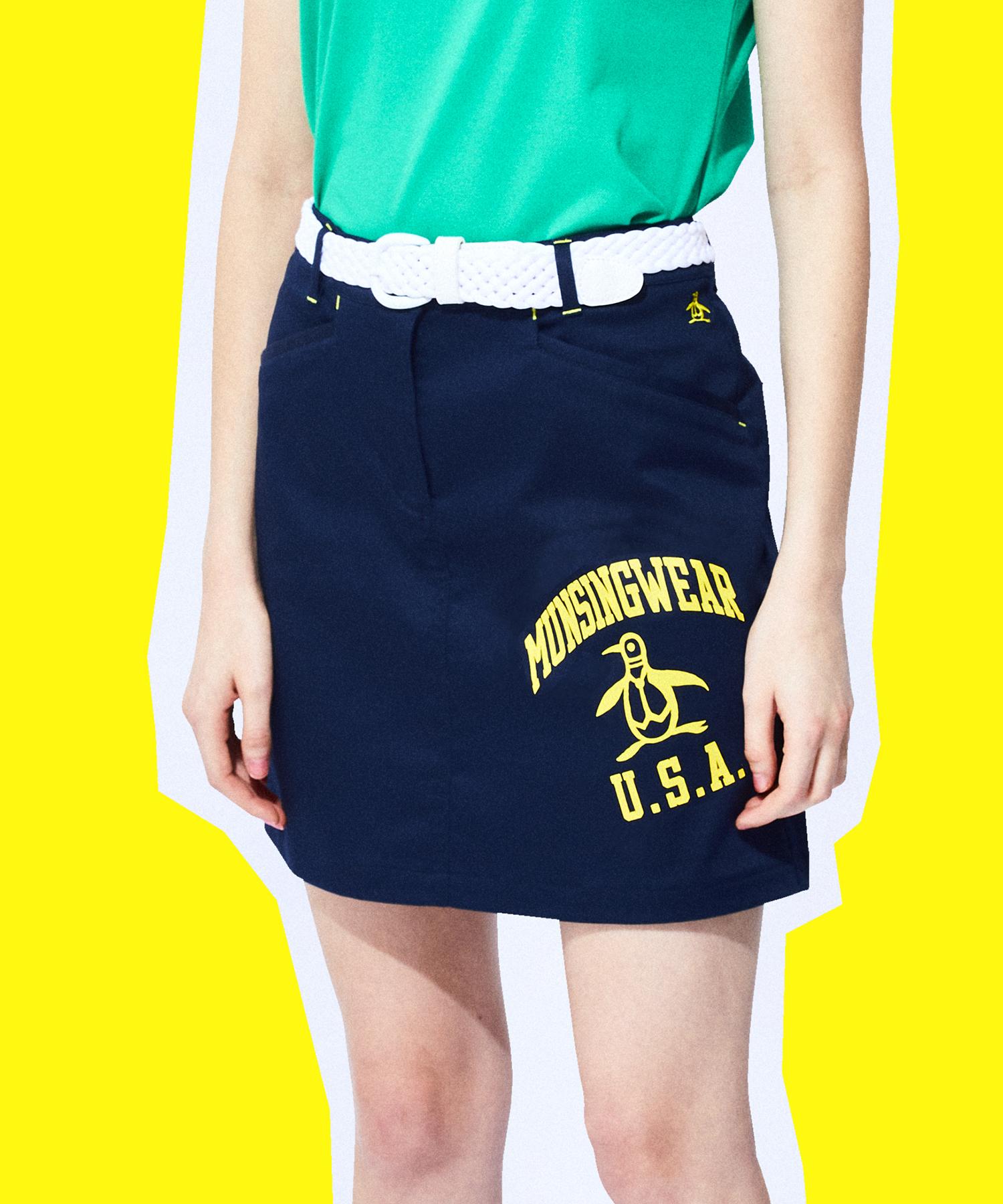 ストレッチサテンスカート(42cm丈 )