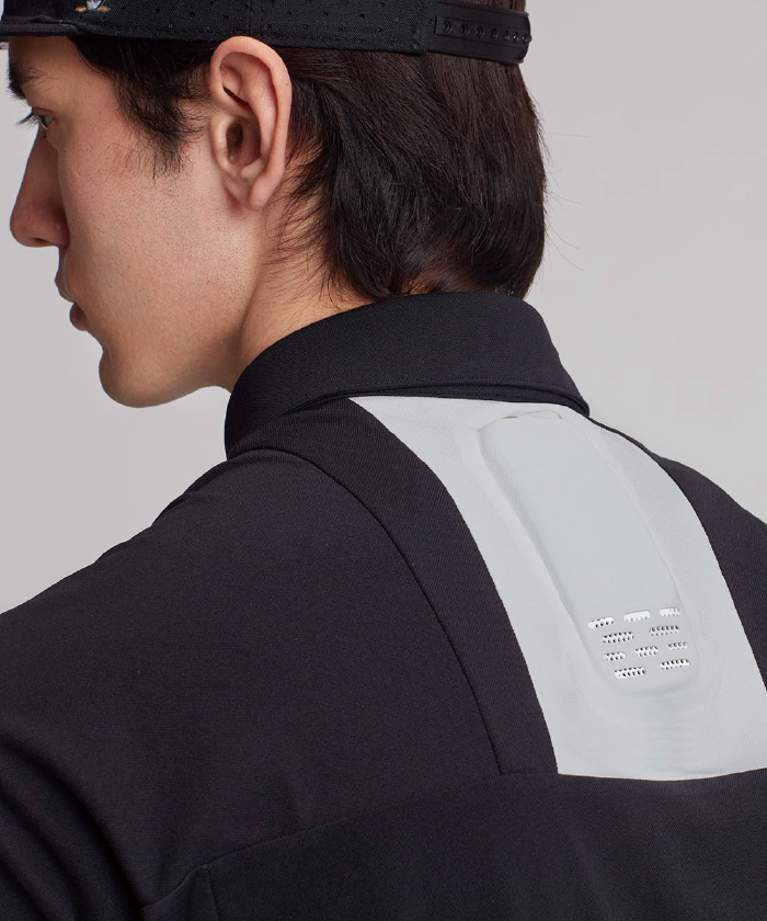 【本体セット】レオンポケット専用ハーフジップポロシャツ(ENVOY)