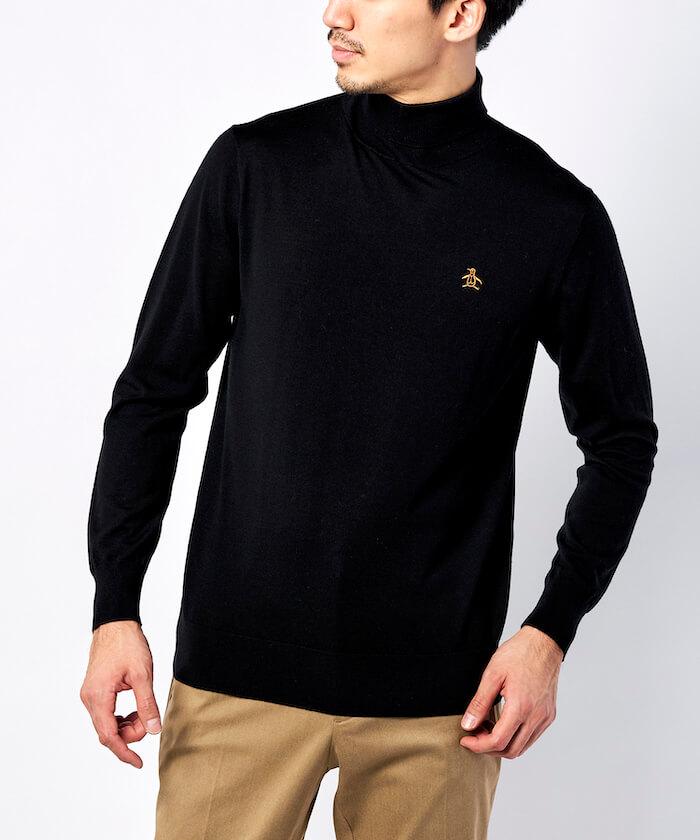 イタリアヤーンタートルネックセーター《ユニセックス対応》