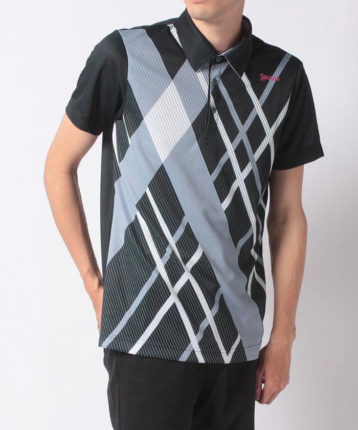 Coolist D-Tec クロス大柄プリントシャツ
