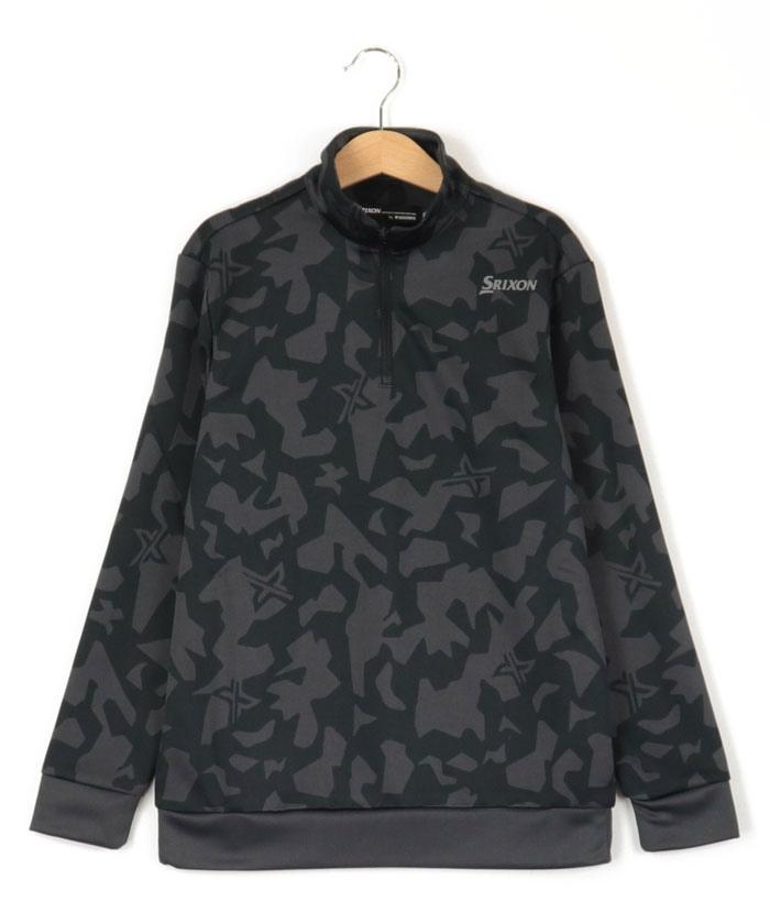 【ジュニア別注】クロスカモ柄プロスタイルシャツ