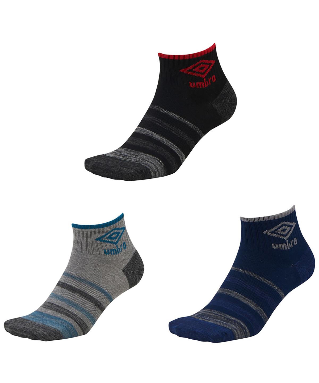 【3足セット】3Pデザインショートソックス |靴下