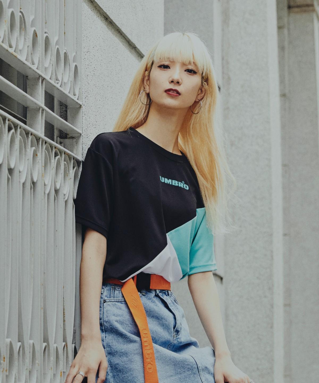半袖ドライTシャツ/カラーブロック |HERITAGE/ ヘリテージ|吸汗・速乾・UPF15