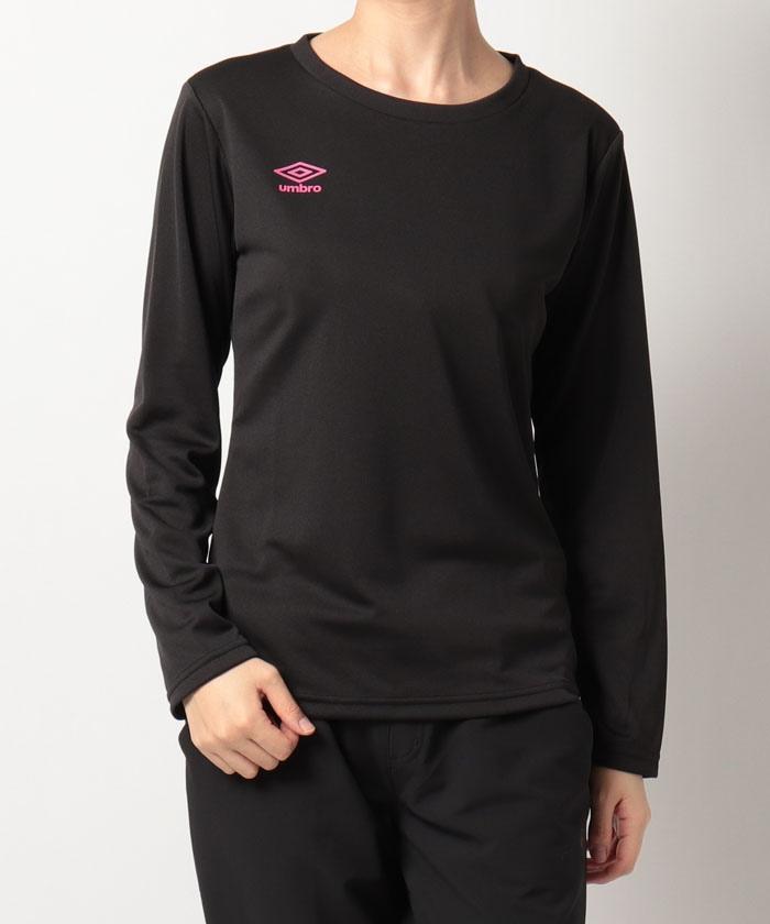 レディース長袖ドライTシャツ|吸汗・速乾・UV(UPF15)