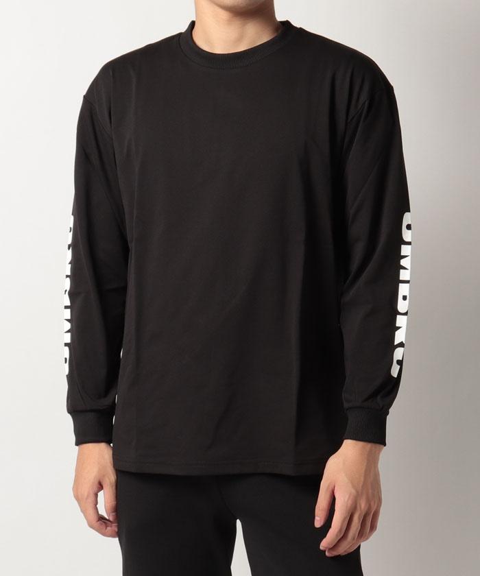 HERITAGE 長袖Tシャツ(スリーブプリント)|吸汗・速乾・ストレッチ