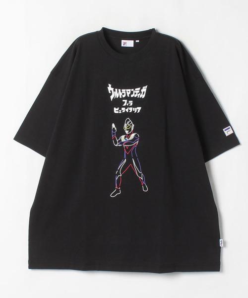 FILAイラストTシャツ