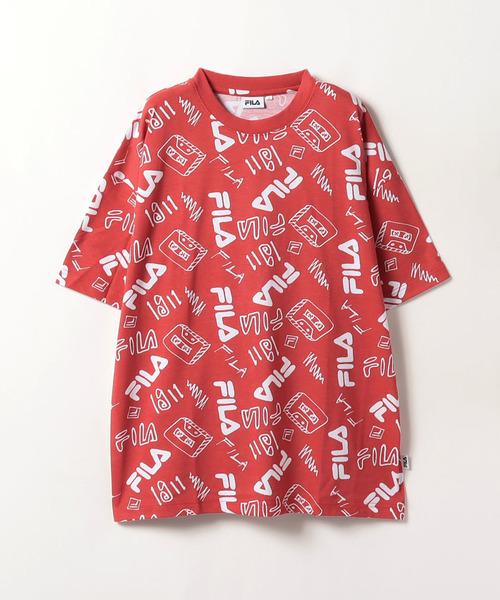 FILA総柄Tシャツ