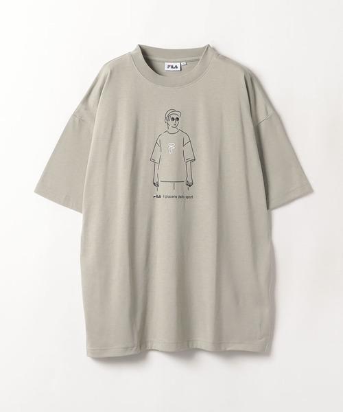 FILAメンズモデルTシャツ
