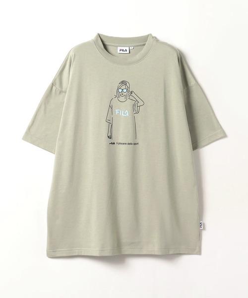 FILAレディースモデルTシャツ