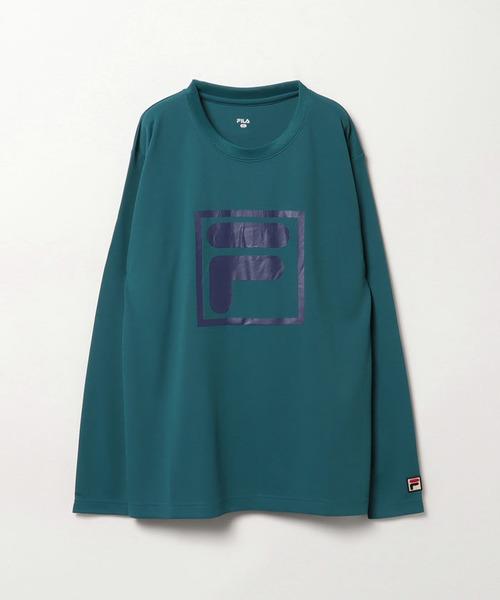 グラフィックロングスリーブTシャツ メンズ トップス