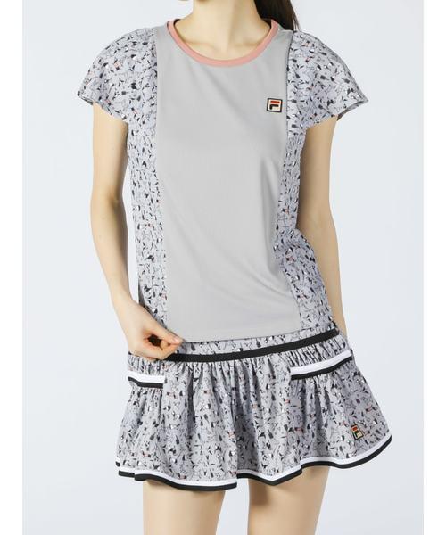 ウィメンズ ゲームシャツ<テニス>(VL2095)