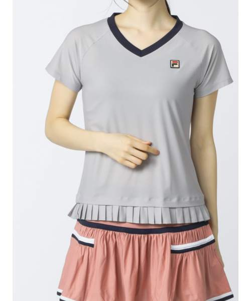 ウィメンズ ゲームシャツ<テニス>(VL2151)