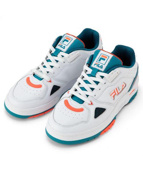 【FOOTWEAR】テラタック 600-V2 ウィメンズ  ホワイト / ブルー グリーン / オレンジ レッド
