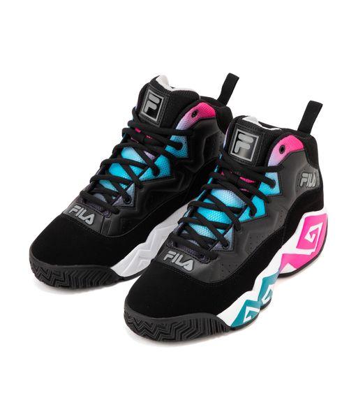 【FOOTWEAR】MB  ブラック / ピンク / シー ブルー