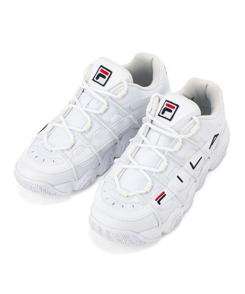【FOOTWEAR】フィラバリケード XT 97 ウィメンズ  ホワイト/Fネイビー/Fレッド