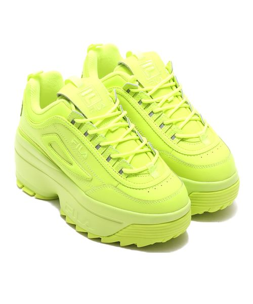 【FOOTWEAR】ディスラプターII ウェッジ ウィメンズ Safety yellow