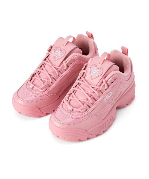 【FOOTWEAR】ディスラプター II ハート ウィメンズ  ペール ピンク