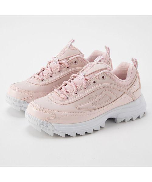 【FOOTWEAR】ディストーター ウィメンズ  ピンク/ホワイト
