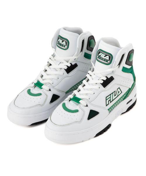 【FOOTWEAR】テラタック 600 ハイ  ホワイト / グリーン / ブラック