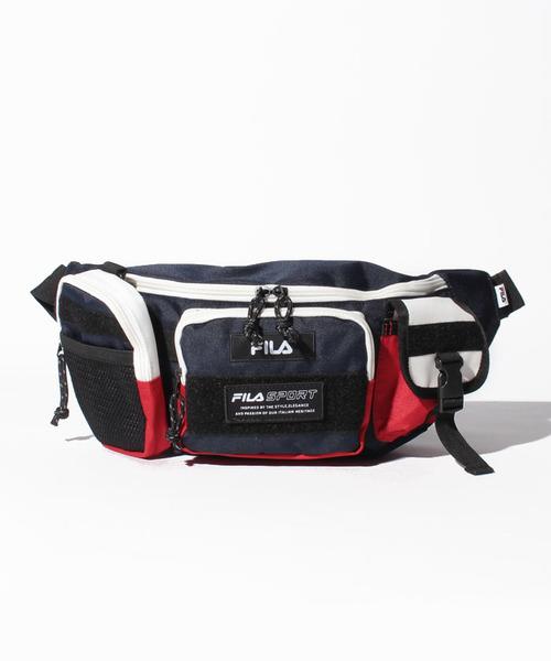 BTS着用モデル FILA ベルトバッグ