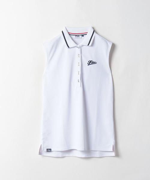 ノースリーブ ポロシャツ