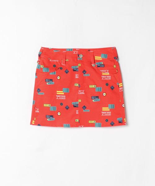 【セットアップ対応商品】プリントスカート