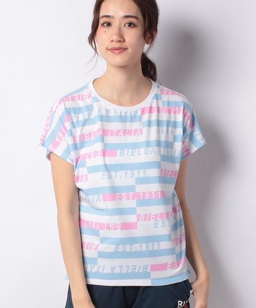 FILAプリント半袖Tシャツ