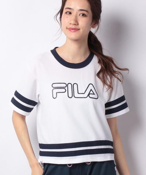 FILA鹿の子メッシュ半袖Tシャツ