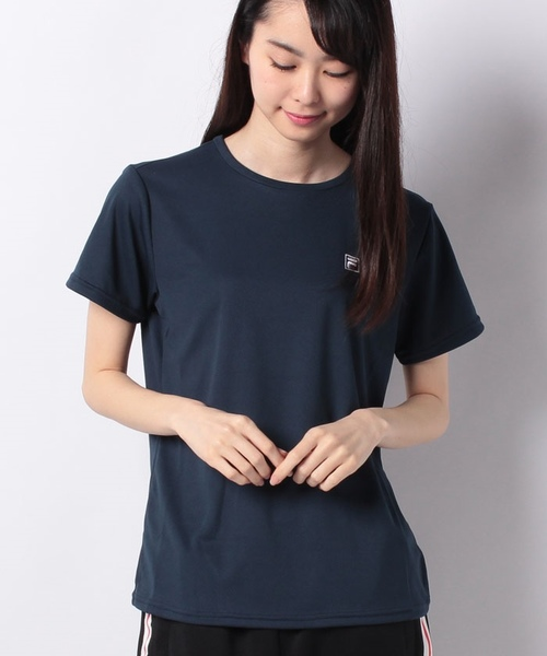 FILA PEメッシュ1ポイントTシャツ