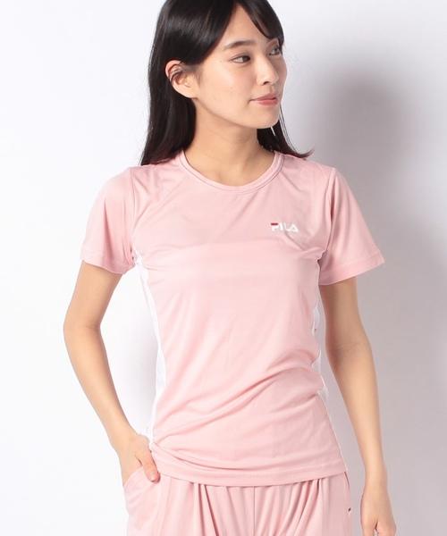 【セットアップ対応商品】【FILA】超軽量スムースTシャツ